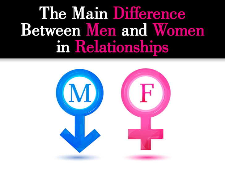 The Main Difference Between Men and Women When It Comes to Relationships post image