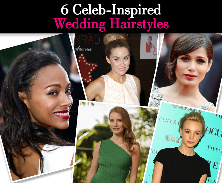 Six Celeb-Inspired Wedding Hairstyles post image