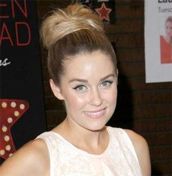 wedding hair lauren conrad