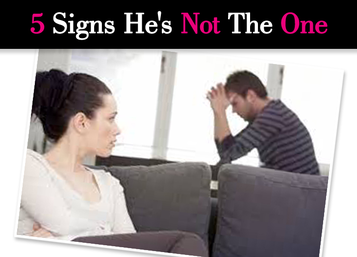 5 Signs He's Not The One post image