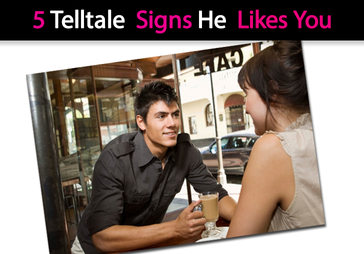 Internet dating signs he likes you