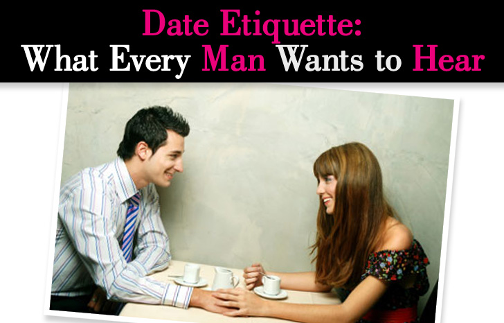 Female dating etiquette