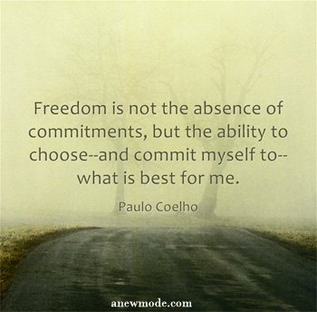 freedom-not-absence-of-commitment