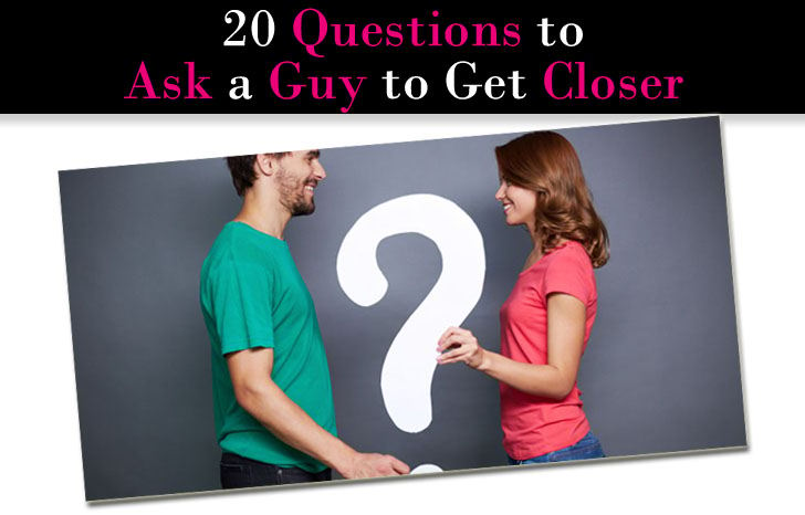 Questions to ask a guy online dating