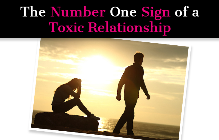The Number One Sign of a Toxic Relationship post image