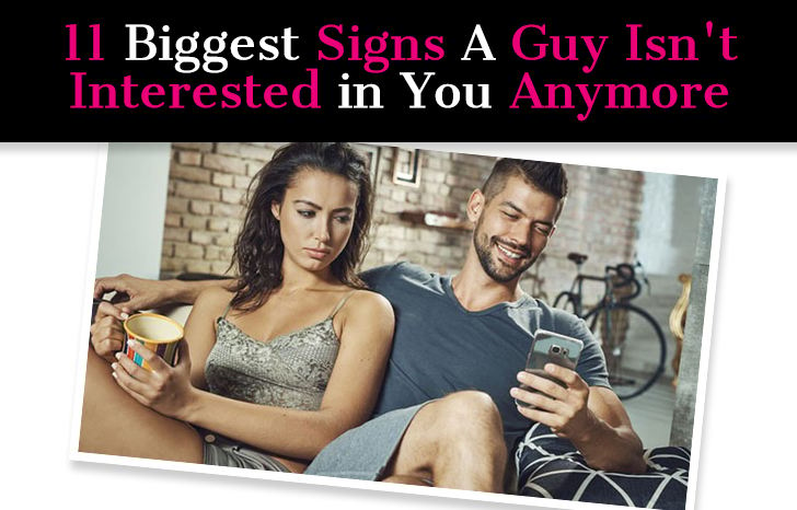 11 Biggest Signs A Guy Isn't Interested in You Anymore post image