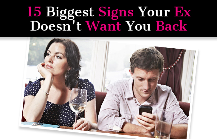 15 Biggest Signs Your Ex Doesn't Want You Back post image