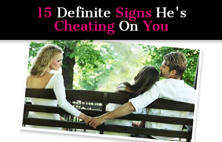 Definite signs of cheating