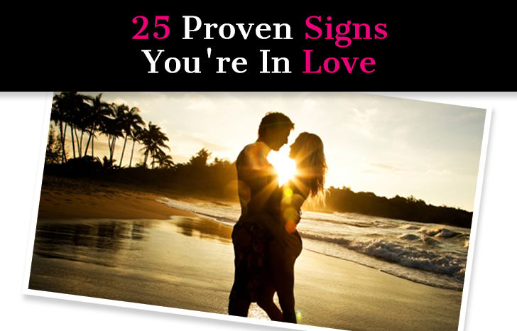 25 Proven Signs You're In Love post image