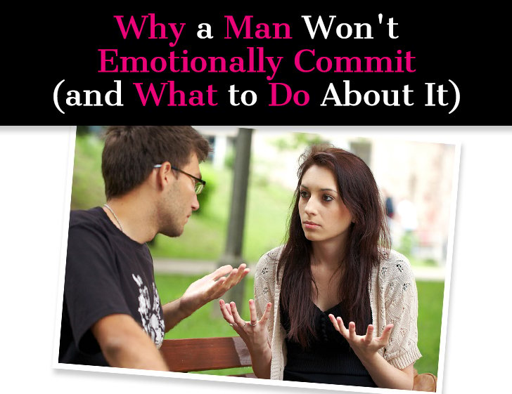 dating a divorced man who wont commit