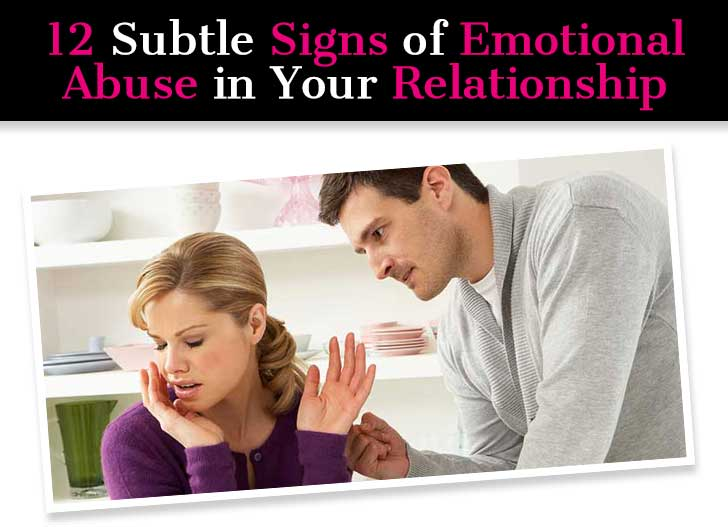 Subtle signs of a controlling man